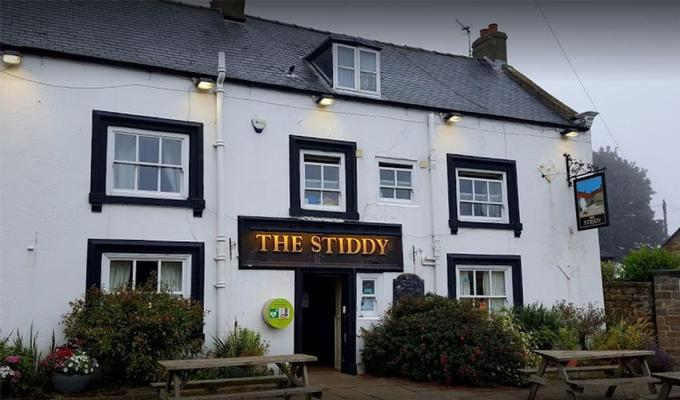 The Stiddy Pub and Food at our Camp Site in Whitby