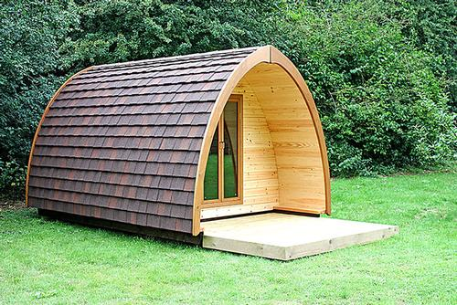 Glamping Pods at our Camp Site in Whitby